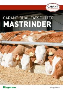 Prospekt Garant Qualitätsfutter für Mastrinder
