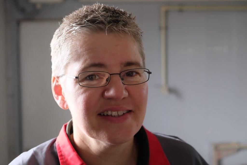 Regina Zodtl, Fütterungsexpertin für Schweinezucht.