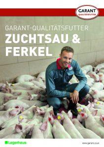 Prospekt Garant Qualitätsfutter für Zuchtsauen und Ferkel