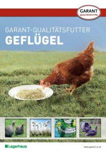 Prospekt Garant Qualitätsfutter für Geflügel